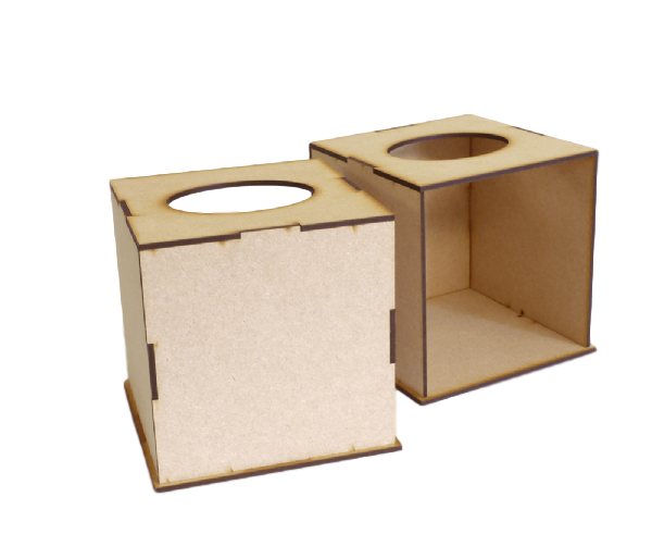 Tissue Box Holder Kit (Twin Pack)